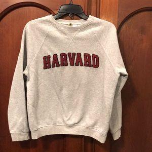 Ladies Harvard Sweatshirt with raised letters
